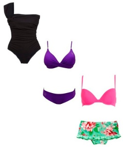 Hourglass swimsuits