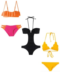 rectangle swimsuits